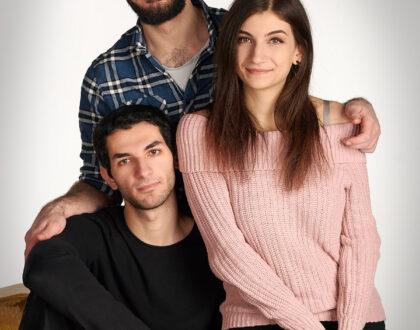 porträttfotograf, familjefotografering
